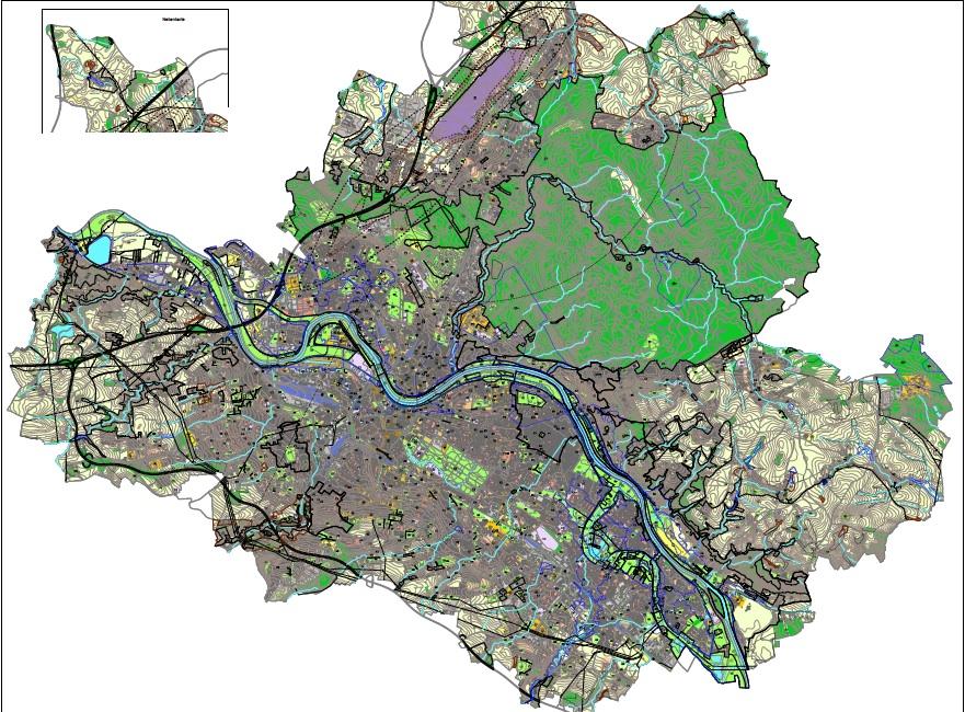 Entwurf für einen neuen Flächennutzungsplan für Dresden (Stand 31.3.2013). An diesem Rahmenplan wird seit mehr als fünf Jahren gearbeitet.