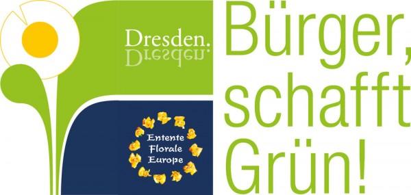 Logo Entente Florale Dresden