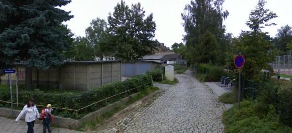 Künftiger Volksbadgarten in Löbtau