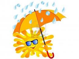 Sonne+Regenschirm