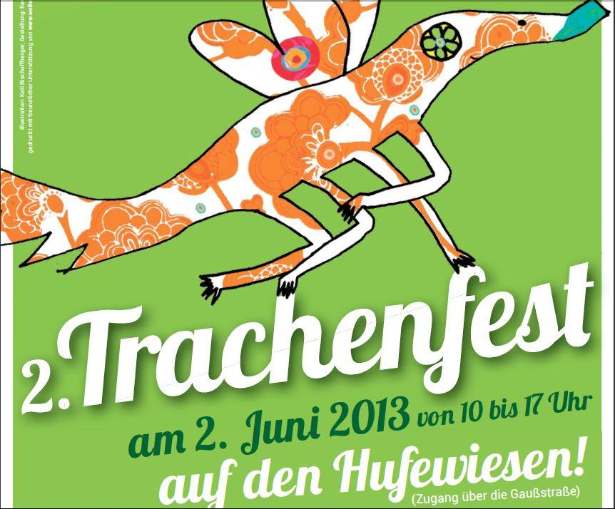 Trachenfest Plakat