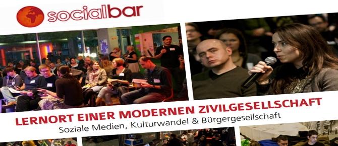 socialbar - Lernort für Wandel im Alten Wettbüro.