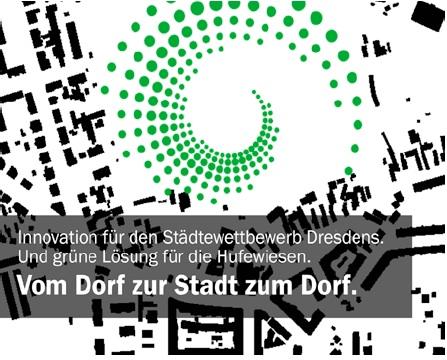 """Die Spirale als Leitbild für die Thomsen-Empfehlungen """"Vom Dorf zur Stadt zum Dorf""""."""