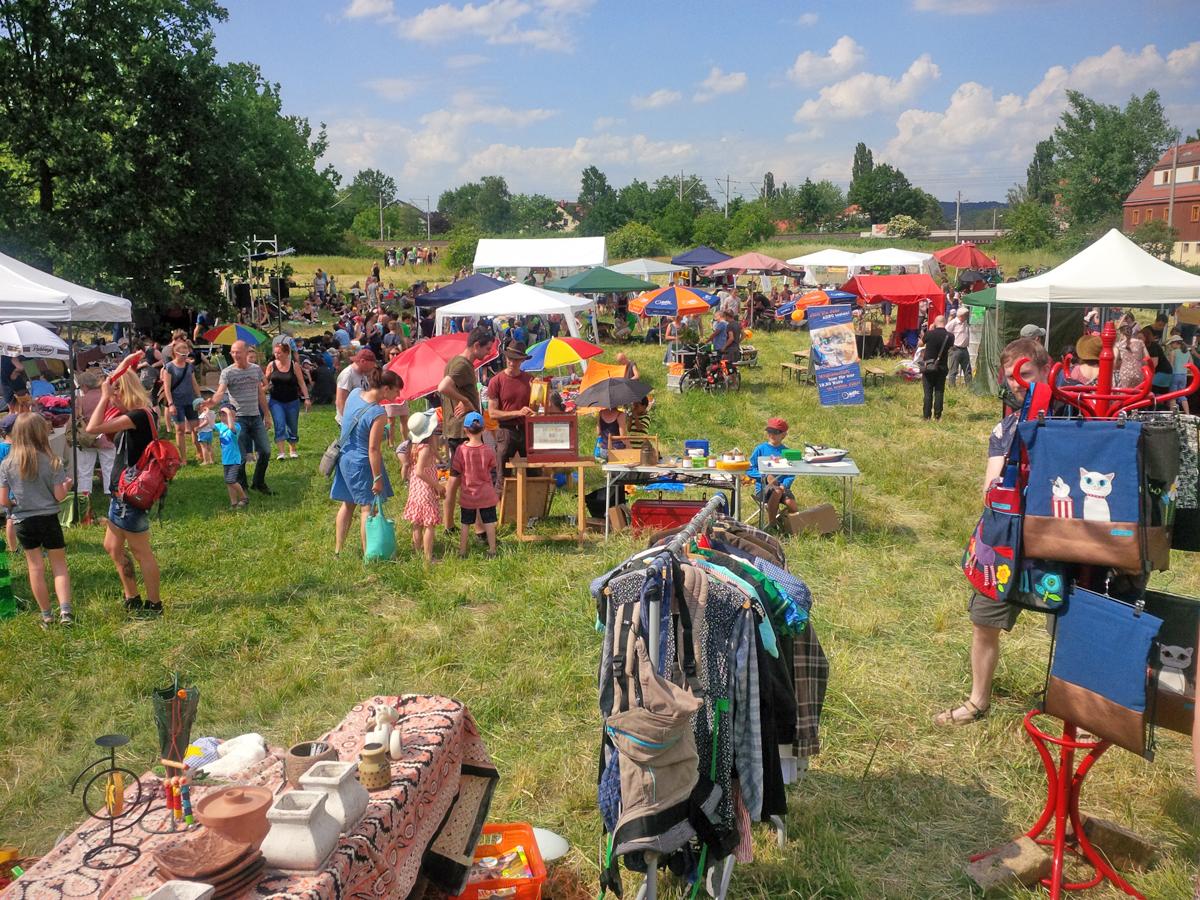 Trachenfest auf den Hufewiesen 2018