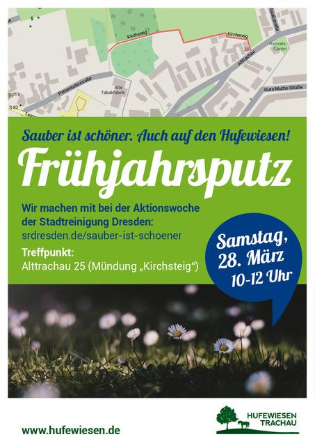 Plakat Frühjahrsputz 2020